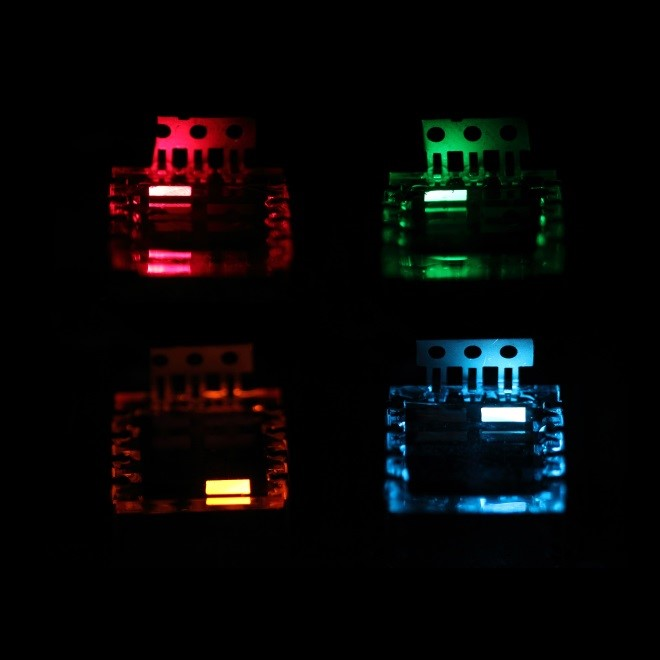 Colourful light-emitting diodes based on colloidal perovskite nanocrystals by Nanolumi